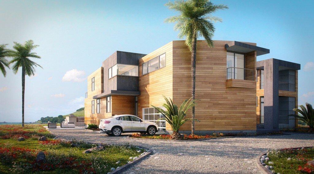 Wizualizacje architektoniczne - Dom na plaży