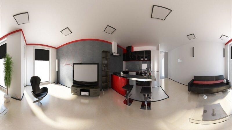 3D Interior Design _ 77m2 Apartment