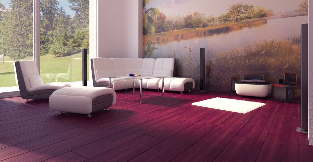 Wizualizacje wnętrz – Duplex Apartment (LU)