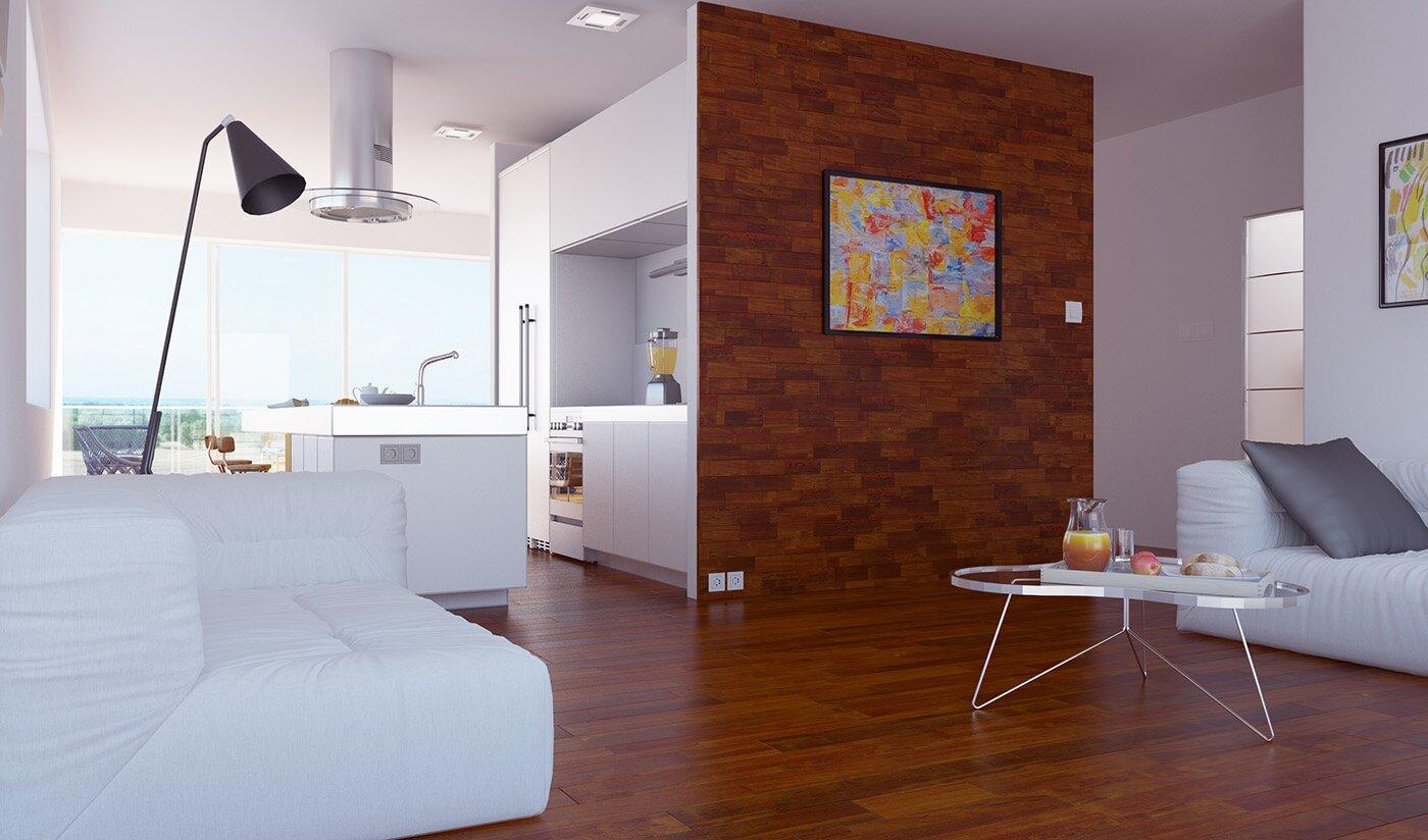 Aranżacja i wizualizacje apartamentu 3d – Ap.9