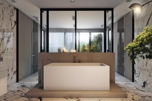 Wizualizacje 3d - projekt apartamentu - petersburg