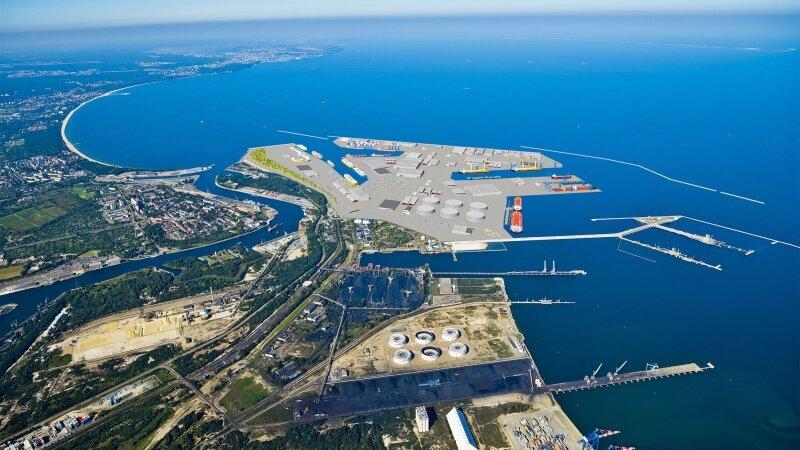 3D visualization _ Gdansk Central Port Concept