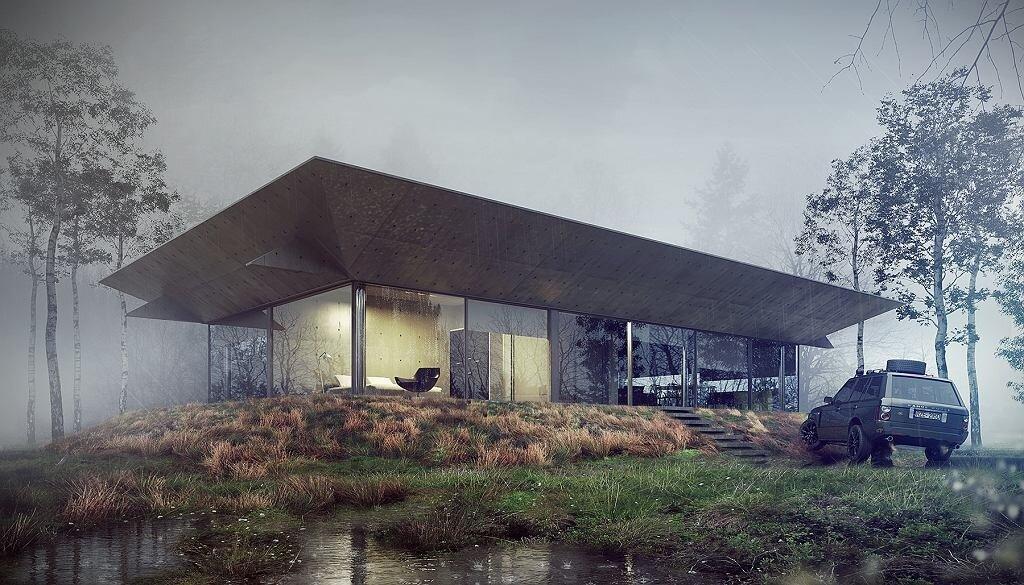 """10 inspiracji """"Cabin Architecture"""""""