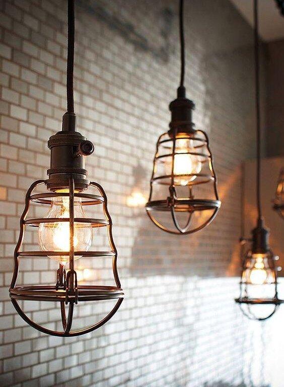 6 Inspirujących lamp Edison