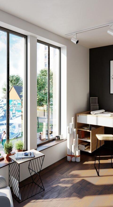 Wizualizacje 3D | okna veka wnetrze